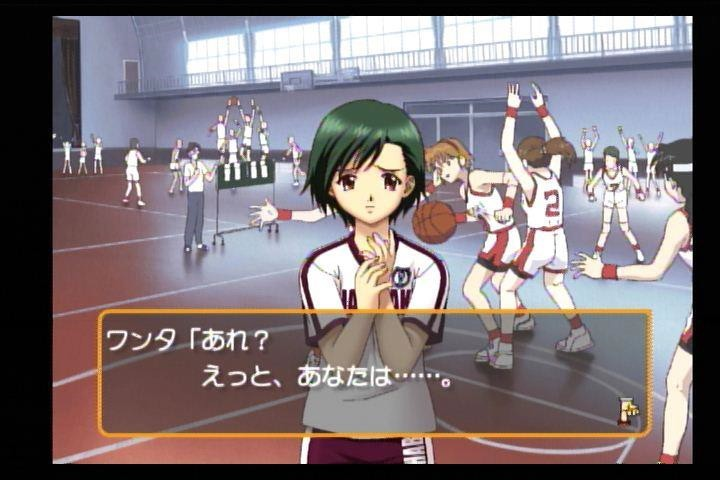 Figure 4: Name: Konno Tamami. Birthday: 5 June; Height: 151cm; Horoscope: Gemini; Weight: Secret; Blood type: O; Part time Job: None; Club: Basketball manager; Rival in love: Suzuka Kazama.
