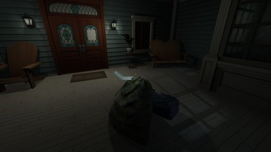 Figure 1: The first problem of Gone Home.
