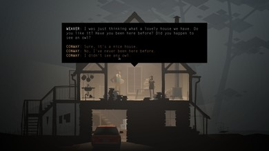 Figure 3: A choice you can't return to in Kentucky Route Zero.